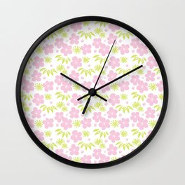 Japanese Pattern 6 Wall Clock