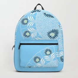 Blue Girl Scout Patch Backpack
