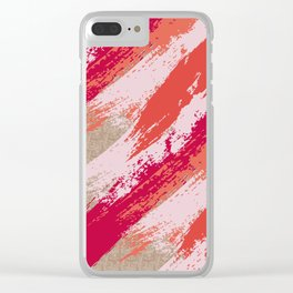 Je Ne Sais Quoi Clear iPhone Case