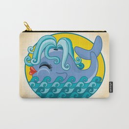 Sexy Whale Carry-All Pouch