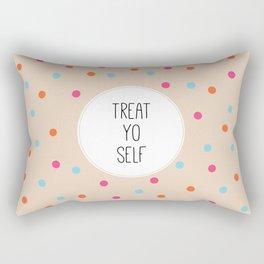 Treat Yo Self II Rectangular Pillow