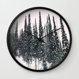 Winter day 11 Wall Clock