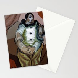 """Juan Gris """"Pierrot Aux Mains Jointes"""" Stationery Cards"""