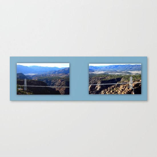 The Royal Gorge Canvas Print