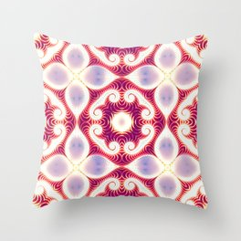 Bloom Of Omnis: Divinity Throw Pillow