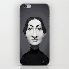 Maria Callas iPhone Skin