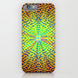 Pattern of hope's light ... iPhone Case