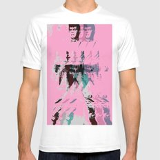 FPJ pretty in pink White MEDIUM Mens Fitted Tee