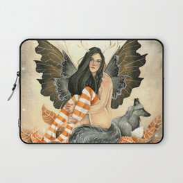 Silver Fox Fall Laptop Sleeve
