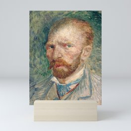 Vincent Van Gogh Self Portrait Mini Art Print