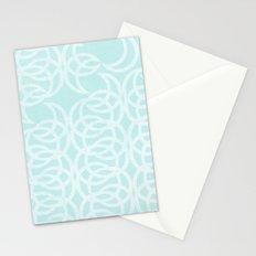 Blue Lunar Stationery Cards