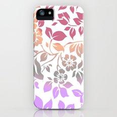 floral Slim Case iPhone (5, 5s)