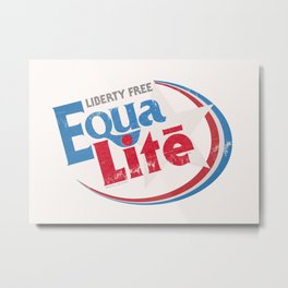 EquaLite [July 4th Edition] Metal Print