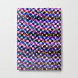 Violet Rays IX Metal Print