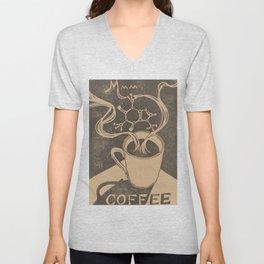 Mmm... Coffee Unisex V-Neck