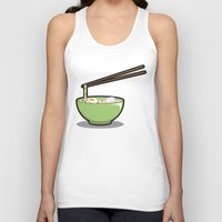ramen Tank Tops featuring Food Lantern - Ramen by binario