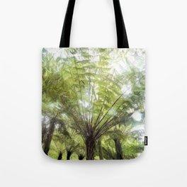 Fern tree, NZ Tote Bag