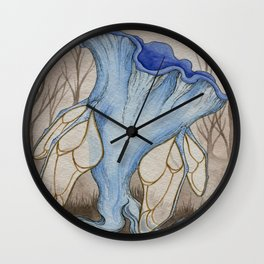 Mycological Oddity Wall Clock