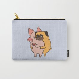 Friend Not Food Pug Carry-All Pouch