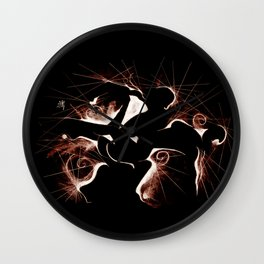 MOMENTOdue Wall Clock