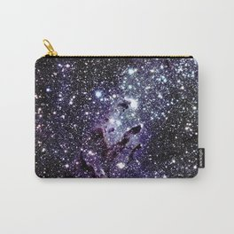 The Eagle Nebula : Pillars of Creation Deep Dark Blues & Purples Carry-All Pouch