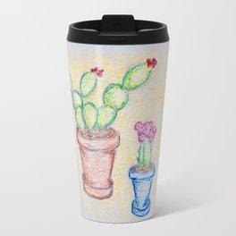Potted Cacti Travel Mug