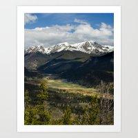 Rocky Mountains, Colorado, 2016 Art Print