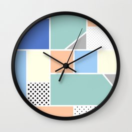 Geometric Calendar - Day 15 Wall Clock