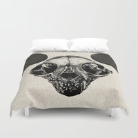 mickey Duvet Covers featuring Sphynx Mickey by Sphynx Collective