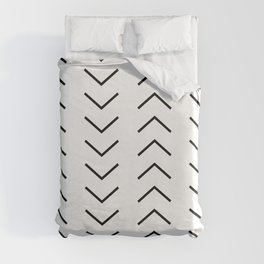 Abstract Arrows Duvet Cover