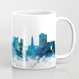 Nottingham England Skyline Coffee Mug