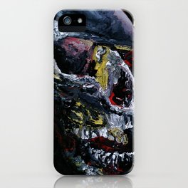 Society Skull iPhone Case