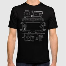 PSX Portable Black Mens Fitted Tee LARGE