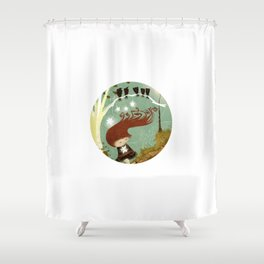 KidNappiNg a liTtle sTAR Shower Curtain