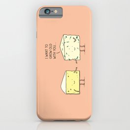 Matured cheese iPhone Case
