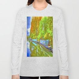 Little Venice London Pop Art Long Sleeve T-shirt