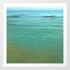 Smooth Wave  Art Print