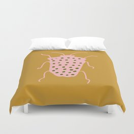 arthropod mustard Duvet Cover