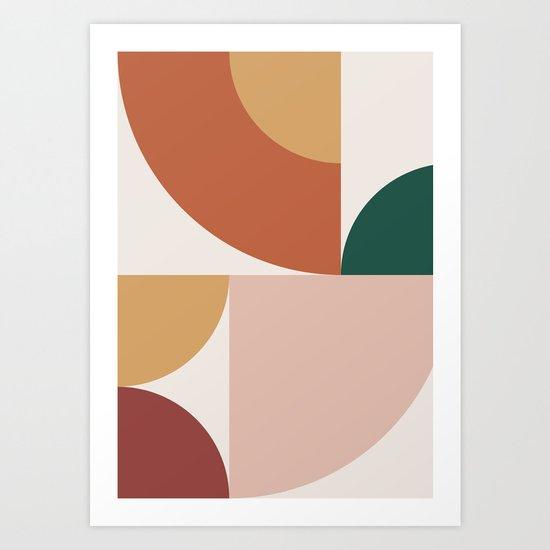 Abstract Geometric 13 by theoldartstudio