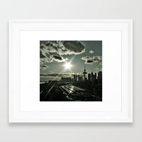 toronto Framed Art Prints featuring Toronto by MSG Imaging