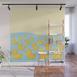 Rubber Duckie Army Wall Mural