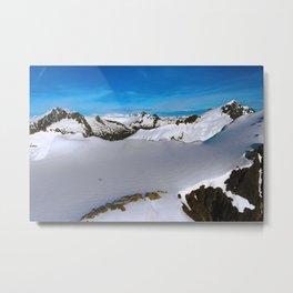 Above Juneau Metal Print