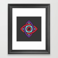 Bifocal Framed Art Print