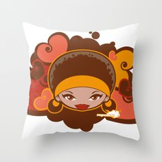Bee-J Color Throw Pillow