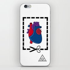 Cut My Heart iPhone & iPod Skin