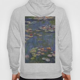 """Claude Monet """"Water lilies"""" (12) Hoody"""