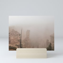 Bryce Canyon Obscured Mini Art Print