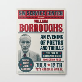 Borroughs Event Metal Print
