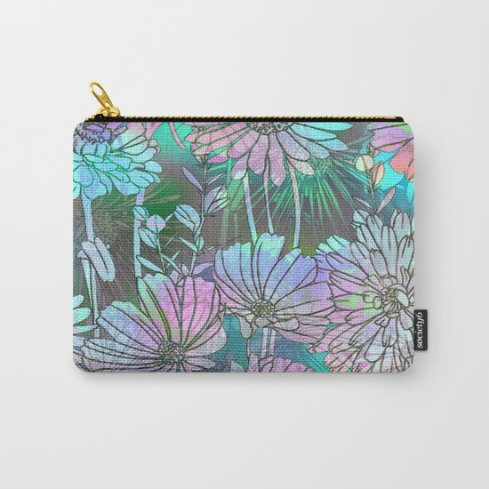 Spring Meadow Pattern Carry-All Pouch