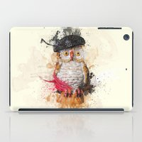 spain iPad Cases featuring Spain Owl by Msimioni
